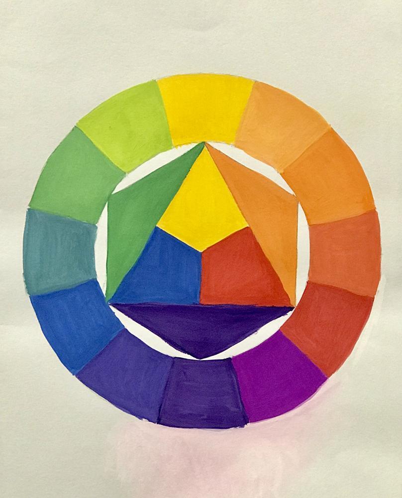 видимо рисунок на тему цвет основы цветоведения карьера оказалась долгой